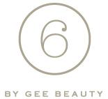 6 BY GEE BEAUTY LOGO